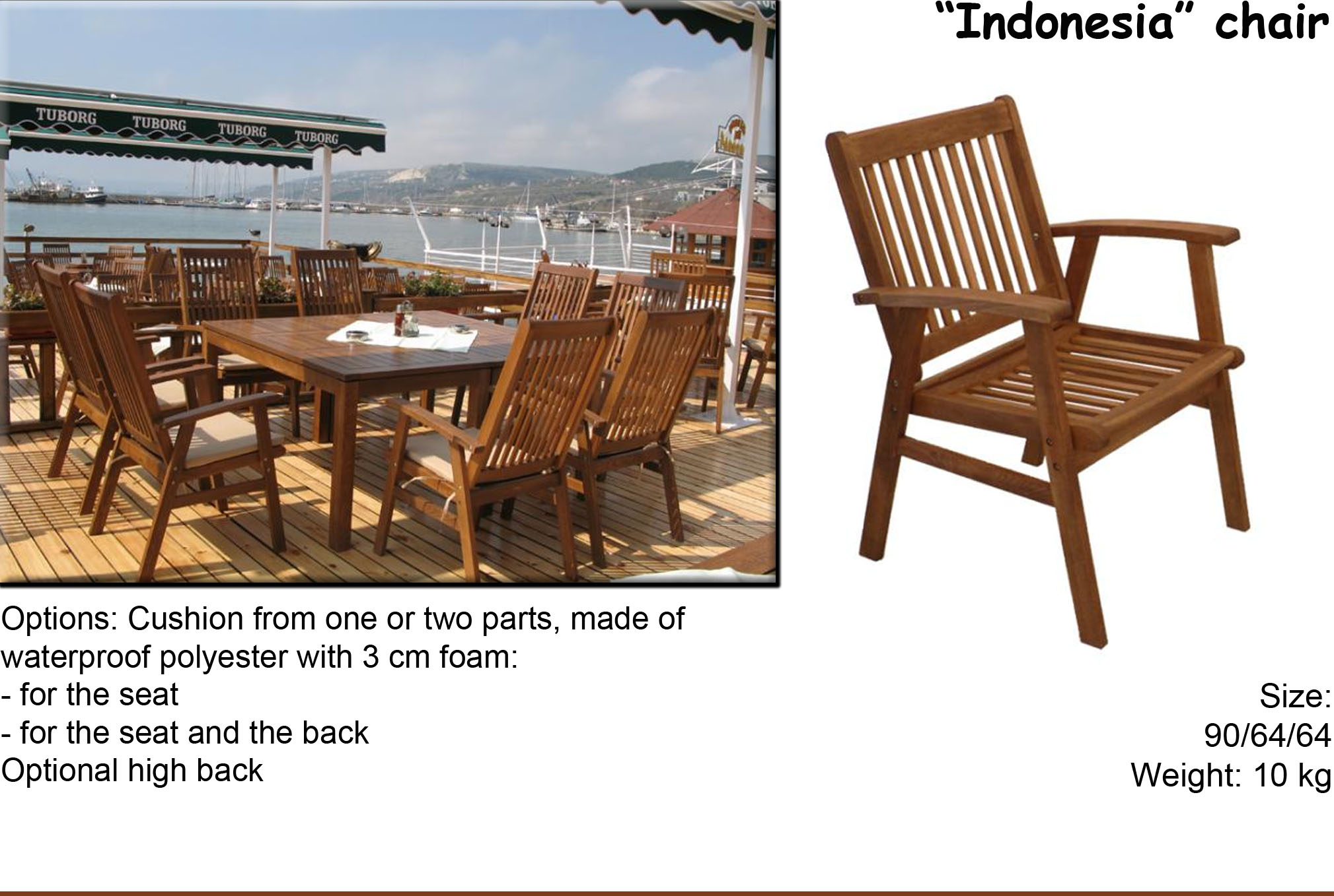 Indonesia Chair