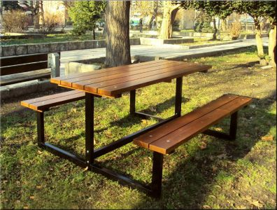 Table With Benches 27 Sm